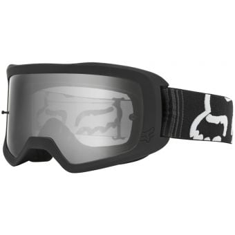 Fox Main II Race Youth MX Goggles Black Side View