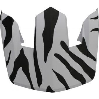 Fox Proframe Zebra Visor Black/White