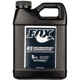 Fox R3 High Performance 5wt Suspension Fluid 946ml