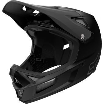 Fox Rampage Comp Full Face MIPS MTB Helmet Infinite Matte Black