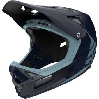 Fox Rampage Comp Full Face MIPS MTB Helmet Infinite Navy