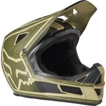 Fox Rampage Comp MIPS Full Face MTB Helmet Cali Tan Small