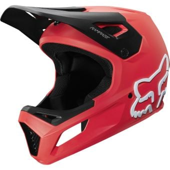 Fox Rampage Full Face MTB Helmet Bright Red