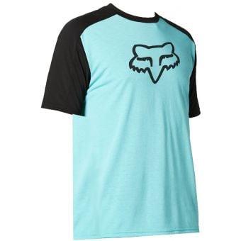Fox Ranger DriRelease Short Sleeve MTB Jersey Teal 2021