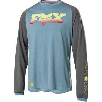 Fox Ranger F-Head-X Dri-Release LS Jersey Light Blue 2020