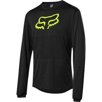 Fox Ranger FoxHead LS Jersey Black 2021