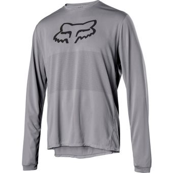 Fox Ranger FoxHead LS Jersey Steel Grey 2021 Small