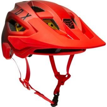 Fox Speedframe MIPS Helmet Fluro Red