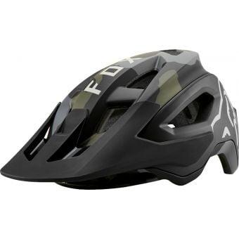 Fox Speedframe Pro MIPS MTB Helmet Green Camo