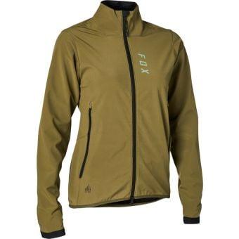 Fox Womens Ranger Fire Jacket Olive Green