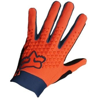 Fox Youth Defend FF MTB Gloves Atomic Punch 2021