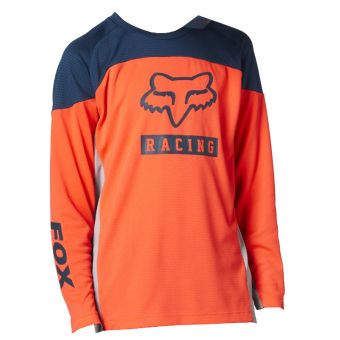 Fox Youth Defend Grphc 2 LS Jersey Atomic Punch 2021