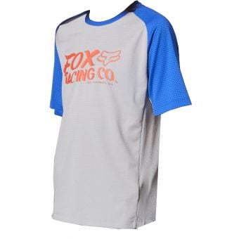 Fox Youth Defend SS Jersey Steel Grey 2021