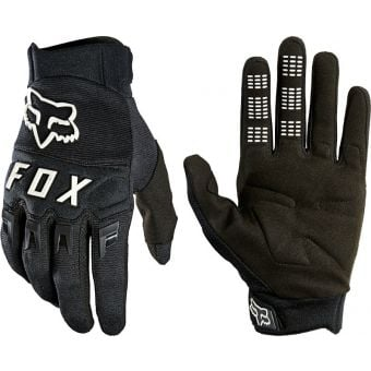 Fox DirtPaw Youth Gloves Black/White 2021