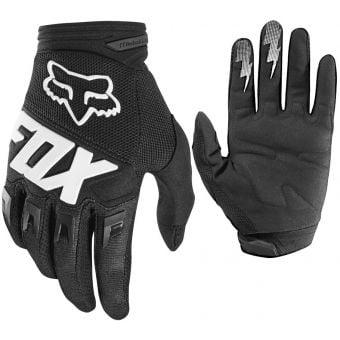 Fox Dirtpaw Youth Race Gloves Black 2020