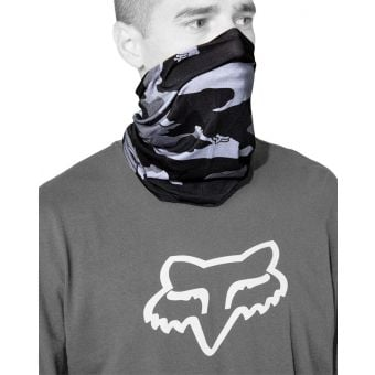 Fox Youth Legion Neck Gaiter Black Camo