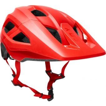 Fox Youth Mainframe Helmet Fluro Red