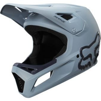 Fox Youth Rampage Full Face MTB Helmet Light Blue/Navy