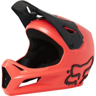 Fox Youth Rampage MIPS Full Face MTB Helmet Atomic Punch
