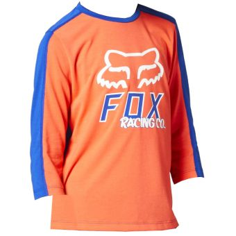 Fox Youth Ranger Dri-Release 3/4 Sleeve Jersey Atomic Punch 2021