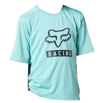 Fox Youth Ranger SS Jersey Teal 2021