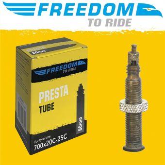 Tioga Butyl 700 x 18-23C 80mm Presta Valve Tube