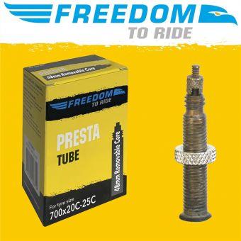 Tioga 700x18/23C 48mm Presta Valve Tube