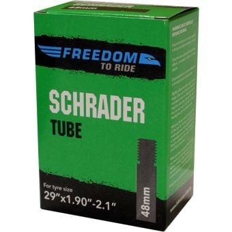 Freedom 29x1.9/2.35 48mm Schrader Valve MTB Tube