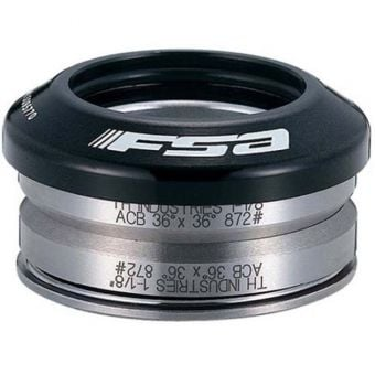 "FSA Orbit Integrated 1-1/8"" (No.36) Headset Anodised Black"