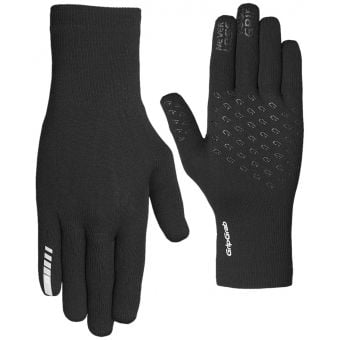 GripGrab Waterproof Knitted Thermal Gloves Black 2020