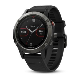 Garmin Fenix 5 Multisport GPS Watch 47mm Case Slate Grey Band
