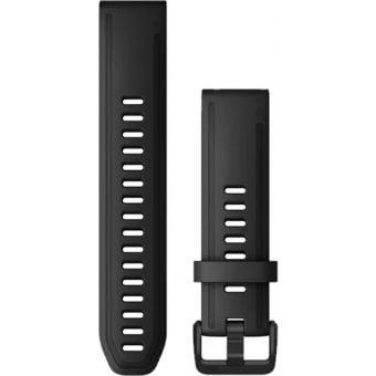 Garmin fenix 6s 20mm QuickFit Silicone Band Black
