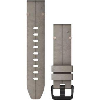 Garmin fenix 6s 20mm QuickFit Suede Band Shale Grey