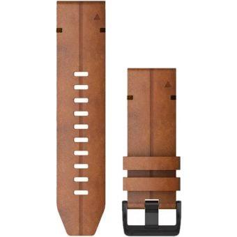 Garmin fenix 6X 26mm QuickFit Leather Band Chestnut