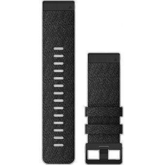 Garmin fenix 6X 26mm QuickFit Nylon Band Heathered Black