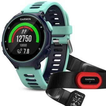 Garmin Forerunner 735XT Multisport Run Bundle Frost Blue (with Optical HR, and HRM4-Run)