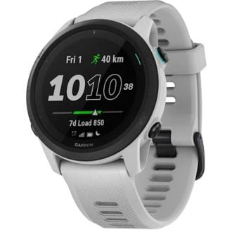 Garmin Forerunner 745 Multisport GPS Watch Whitestone
