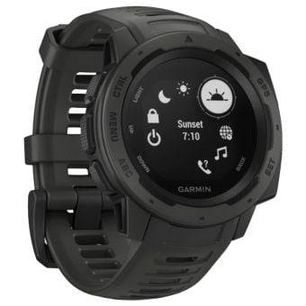 Garmin Instinct HRM GPS Sport Watch Graphite