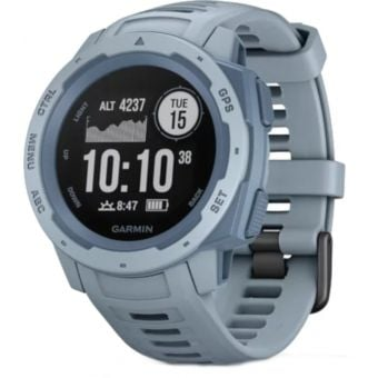 Garmin Instinct HRM GPS Sport Watch Sea Foam