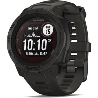 Garmin Instinct Solar GPS Sport Watch Graphite