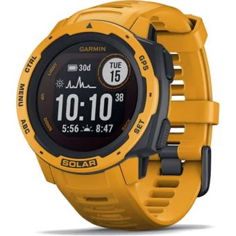 Garmin Instinct Solar GPS Sport Watch Sunburst