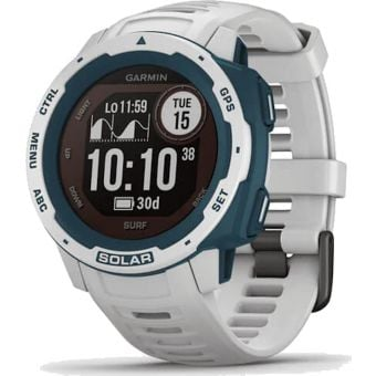 Garmin Instinct Solar Surf Edition GPS Sport Watch Cloudbreak