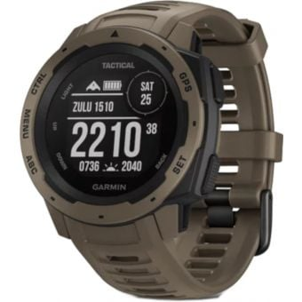Garmin Instinct Tactical GPS Watch Coyote Tan