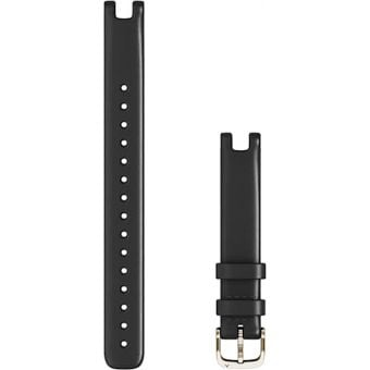 Garmin Lily Womens 14mm Leather Band (Large) Black