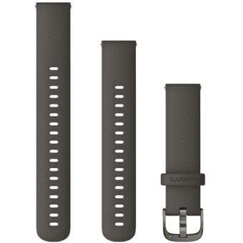 Garmin Quick Release 18mm Silicone Band Graphite/Slate