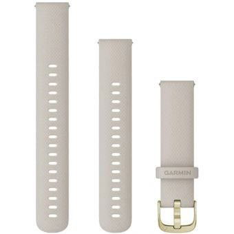 Garmin Quick Release 18mm Silicone Band Light Sand/Light Gold