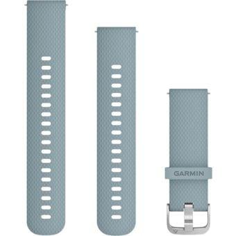 Garmin Quick Release 20mm Silicone Band SeaFoam/Silver