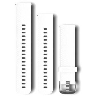 Garmin Silicone Quick Release Bands White