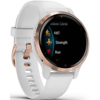 Garmin Venu 2S GPS Smart Watch Rose Gold/White