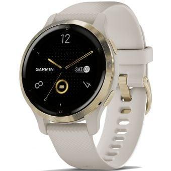 Garmin Venu 2S GPS Smart Watch Tundra/Champagne